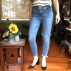 NWT Levi's 721 High Rise Skinny Ankle Jeans